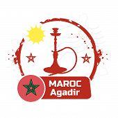 stamp Agadir