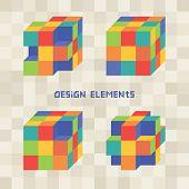 Geometric Design Cube