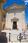 Church of St. Francesco. Poggiardo. Puglia. Italy.
