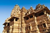 picture of khajuraho  - Vishvanatha Temple dedicated to Lord Shiva  - JPG