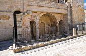 Byzantine Basilica. Castro. Puglia. Italy.