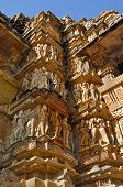 picture of khajuraho  - sculptures at Vishvanatha Temple  - JPG