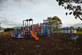 picture of baby spider  - handles on kids playground for baby  - JPG