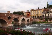 Ponte Pietra Bridge, Verona