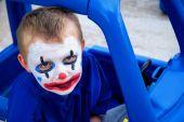 Clown In A Toy Car