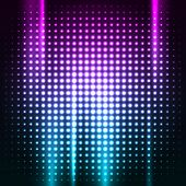 Abstract colorful disco club background