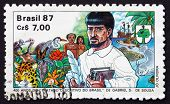 Postage Stamp Brazil 1987 Descriptive Treatise Of Brazil