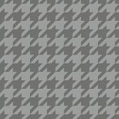 Houndstooth vector seamless pattern or tile background.
