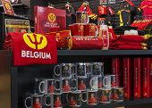Regalia Of The Belgian National Soccer Team.
