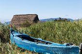 Ancient fishing village, Etang de Canet-Saint-Nazar, South of France