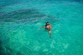 Snorkeling In Caribbean Waters