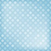 Polka dot blue background. Vector illustration