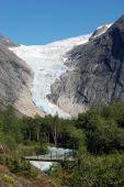 Briksdal glacier in Norway