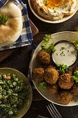 Healthy Vegetarian Falafel Balls