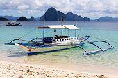 Filipino Boat In El Nido, Philippines