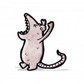 roaring mouse cartoon