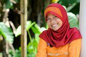 Indonesian Girl Outdoor