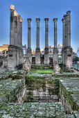 Ruin Of The Roman Temple
