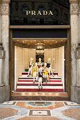Prada Store In Milan