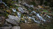 Waterfall In The Jura Mountain