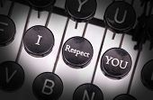 pic of respect  - Typewriter with special buttons I  - JPG