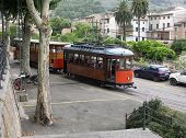 Vintage Tram runs from Soller train station