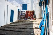 Street In The Town Of Sidi Bou Said, Tunisia