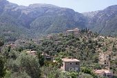 View of Deia Mallorca Spain