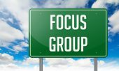 Focus Group on Green Highway Signpost.