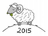 2015 Year Of The Sheep Doodle