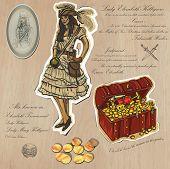 Pirates - Treasure, An Hand Drawn Illustrations