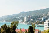 View Of Yalta City Seafront, Crimea