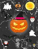 pic of happy halloween  - Happy Halloween Poster - JPG