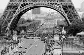 Paris. Under the Eiffel Tower