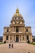 Chapel Of Saint Louis Des Invalides  In Paris.