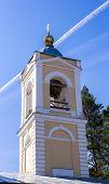 picture of epiphany  - Belfry Church of the Epiphany in the village Perhovo, Russia.