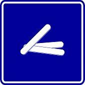 tongue depressors sign