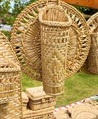 Hand made straw object