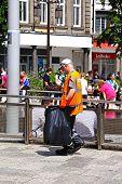 Litter picker, Nottingham.