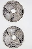 picture of condensation  - Condenser fan air through the use of old rust - JPG