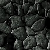 image of crude  - Gray crude bumpy rugged wirl cobblestones texture - JPG
