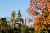 Part Of The Ottawa Parliament Buildings