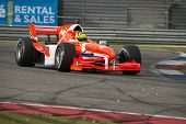 ASSEN, NETHERLANDS - OCTOBER 19, 2014: Nigel Melker (Team Netherlands) wins the Acceleration Grand Prix Formula A1 championships