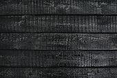 Black Wooden Planks
