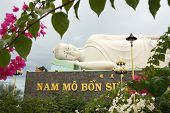 Sleeping Buddha in Vietnam