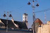 picture of city hall  - Lviv City Hall - JPG