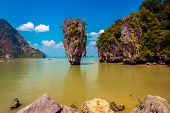 Постер, плакат: James Bond Island Koh Tapu