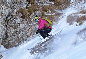 pic of winter sport  - Winter sport  - JPG