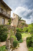 picture of naturel  - Typical housing in Saint Circ Lapopie in France - JPG