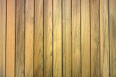 stock photo of lineup  - lineup of teak wood for background used